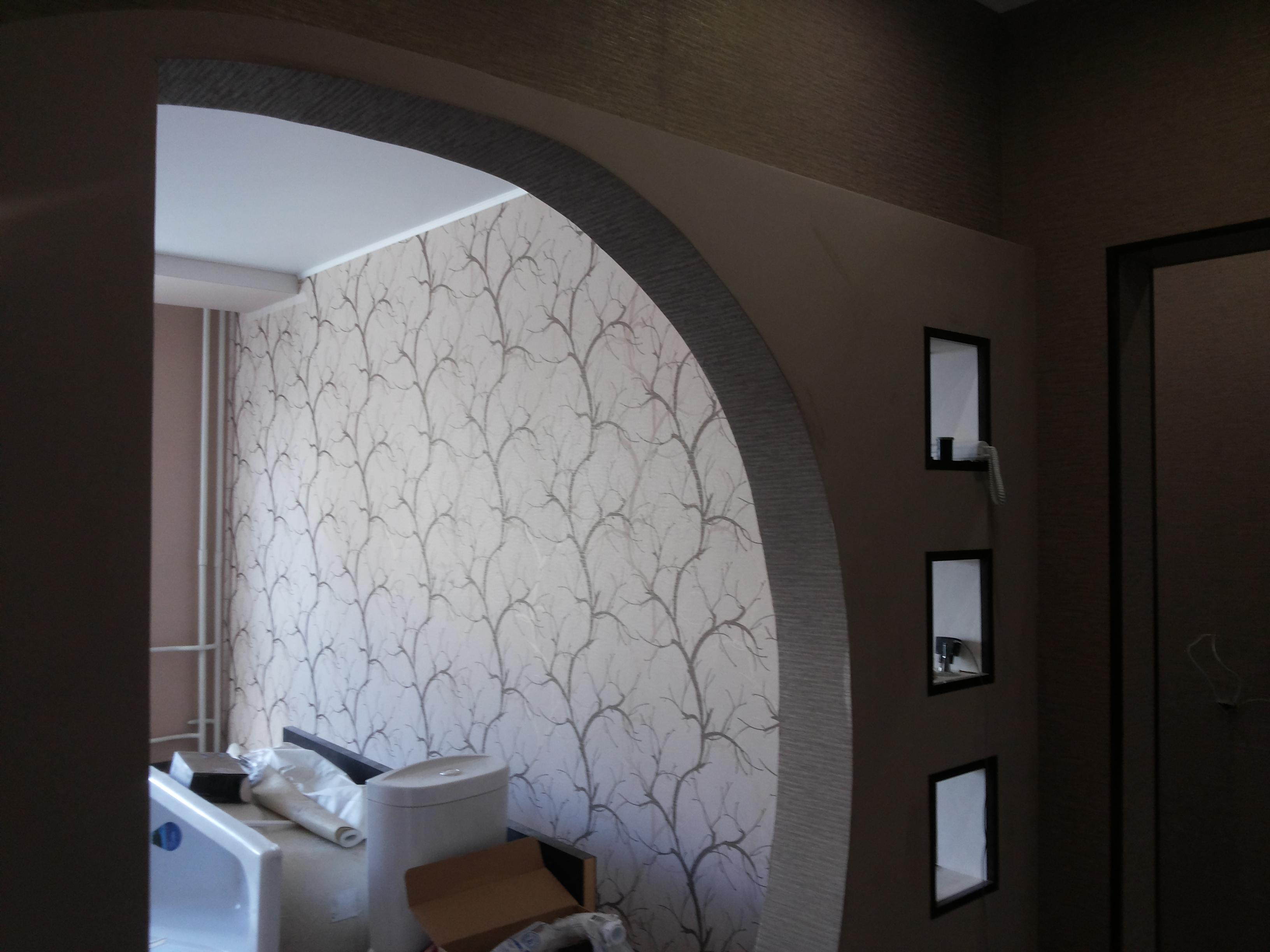 Ремонт однокомнатной квартиры в новостройке под ключ