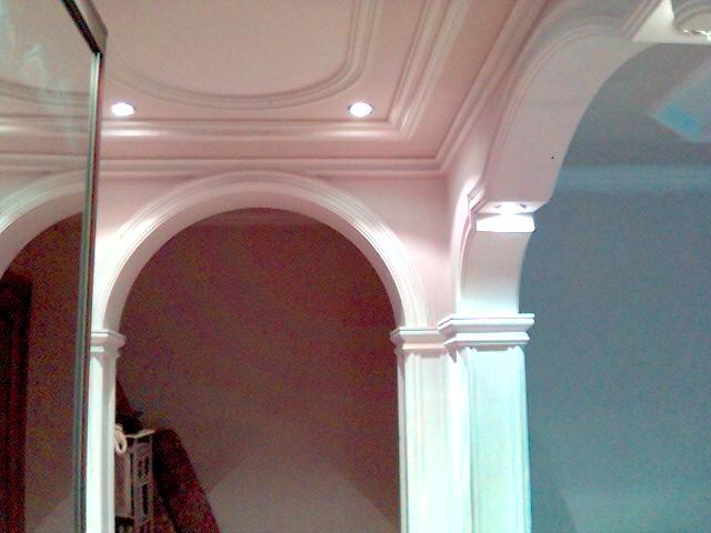 матовая покраска потолка